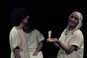 Andromaca, Massimiliano Civica, I sacchi di sabbia, Agorà, Bologna, Emilia Romagna