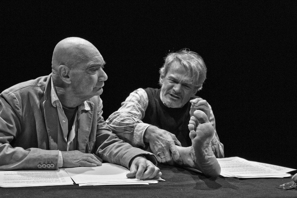 Enzo Vetrano, Stefano Randisi, Lorenzo Donati, Agorà, Bologna, Emilia Romagna, teatro, Due stupidi sublimi