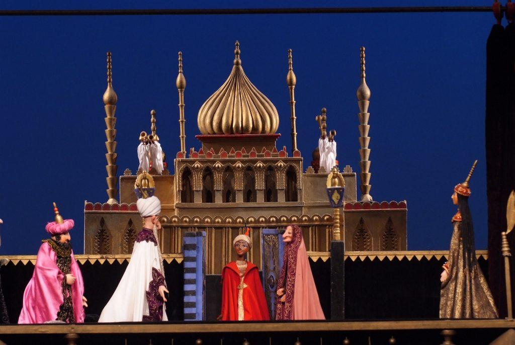 La lampada di Aladino, Teatro delle Marionette di Obraszov, Bologna, Agorà, Emilia Romagna